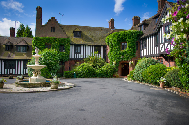 The Stone Manor Hotel in Kidderminster
