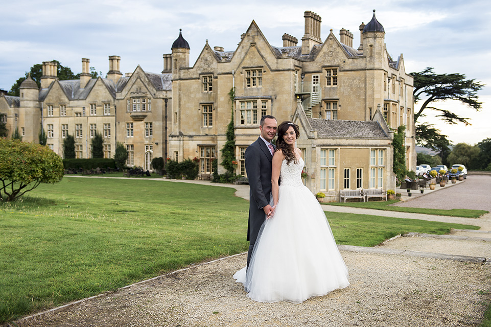 Jenna & Corey at Dumbleton Hall by Heart weddings Photography