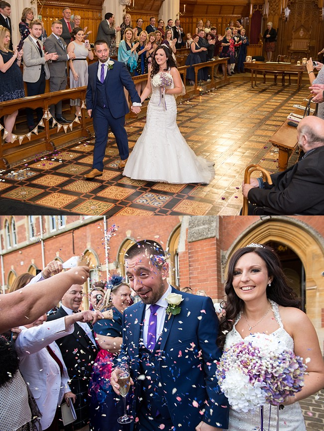 Stanbrook Abbey wedding