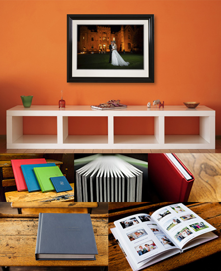 Products page Picture with a portrait image on the wall in a living room