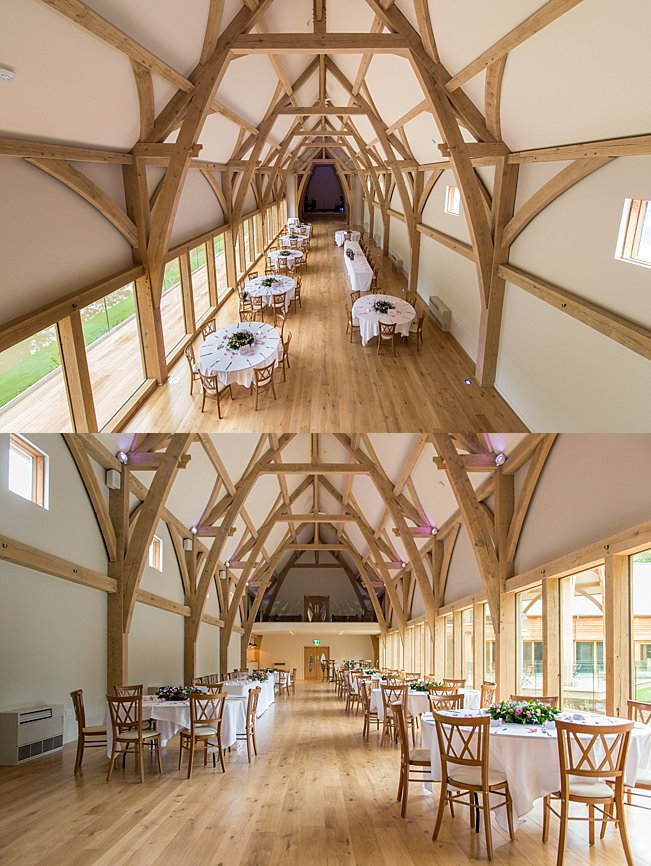 The Mill Barns Wedding interior