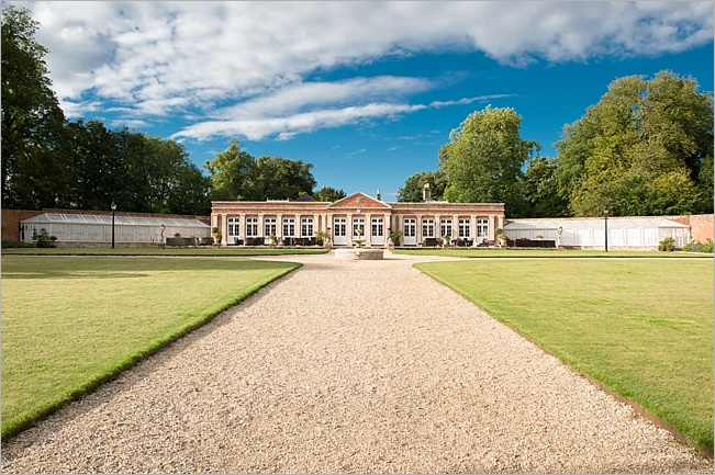 The Orangery at Orchardleigh Estate in Somerset
