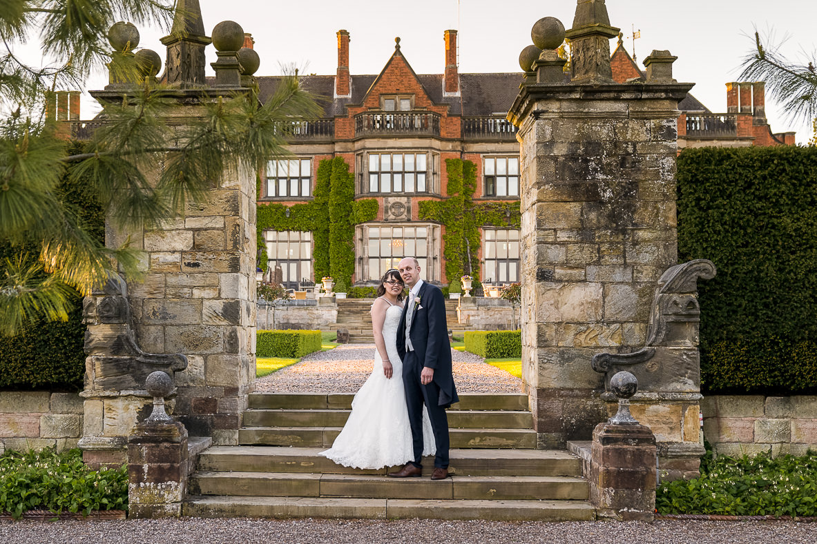 Hoar Cross Hall wedding Photographer
